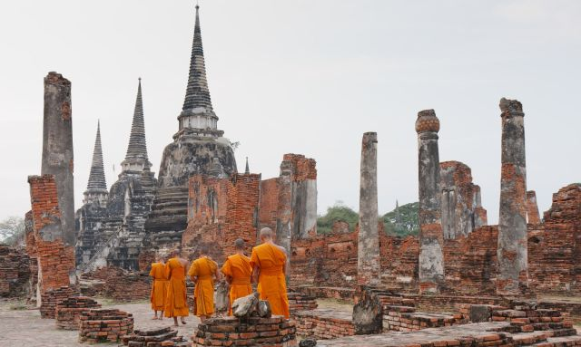 Ayutthaya Temples and Ruins in Ayutthaya Historical Park