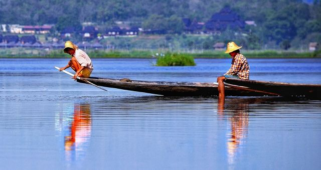 Boat Explorations on Inle Lake