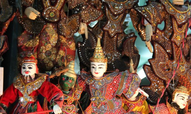 Marionette Puppet Show (Bagan)
