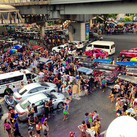 Thai Lunar New Year - Songkran - The Biggest Festival in Thailand