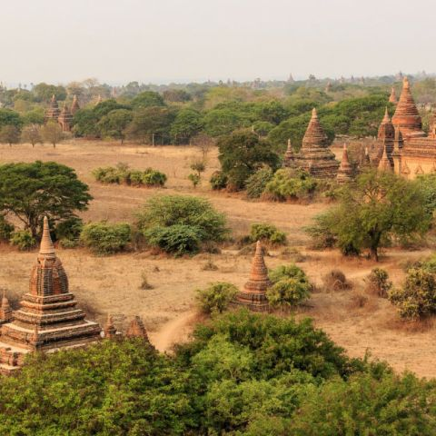 Southeast Asia Bucket List: Top 5 Bird's-Eye Temples and Pagodas in Bagan, Myanmar